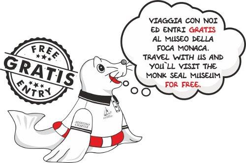 Offerta museo foca monaca Cala Gonone escursioni